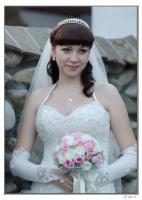 Доченька -невеста.