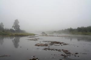 Туманная река Малая Утка