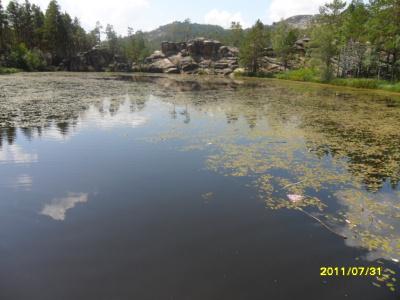 Чёртово озеро в Каркаралинске